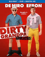 Dirty Grandpa Blu-ray + DVD +  Digital HD (2-Disc Set) (Free Shipping)