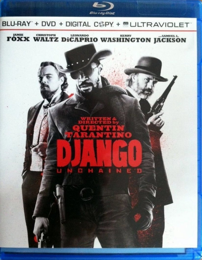 Django Unchained Blu-ray + DVD + Digital Copy + UltraViolet (3-Disc Set) (Free Shipping)