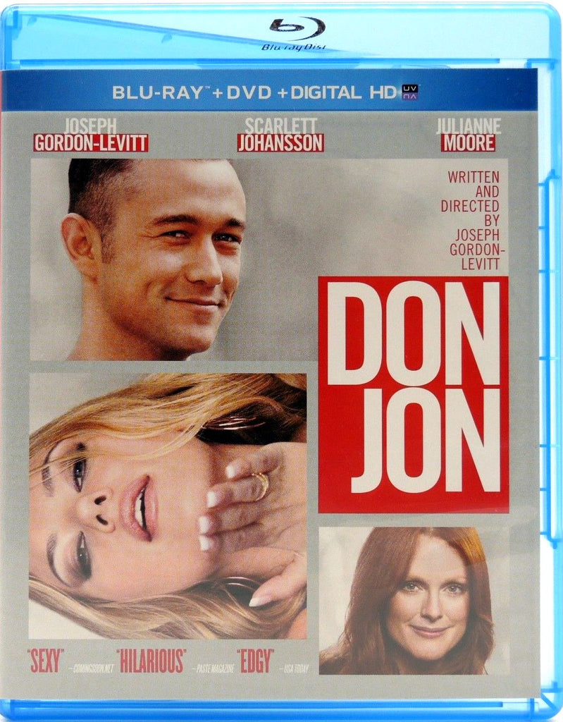 Don Jon Blu-Ray + DVD + Digital HD (2-Disc Set) (Free Shipping)