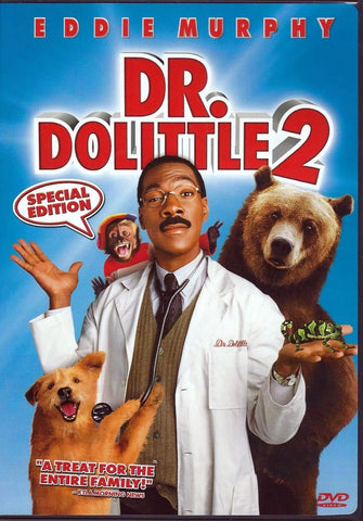 Dr. Dolittle 2 DVD (Free Shipping)
