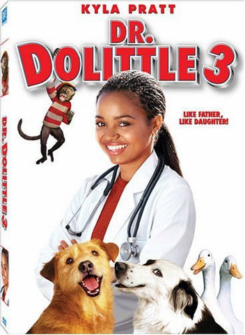 Dr. Dolittle 3 DVD (Free Shipping)