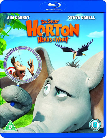 Dr. Seuss' Horton Hears A Who Blu-Ray (Free Shipping)
