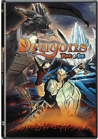 Dragons - Fire & Ice DVD (Free Shipping)