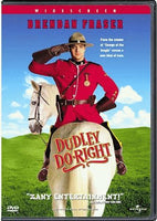 Dudley Do Right DVD (Free Shipping)