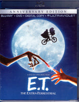 E.T. The Extra-Terrestrial - Anniversary Edition Blu-ray + DVD + Digital Copy + UltraViolet (Free Shipping)