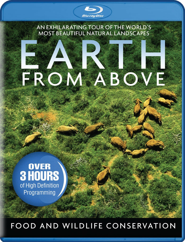 Earth From Above - Food And Wildlife Conservation Blu-Ray (Free Shipping)