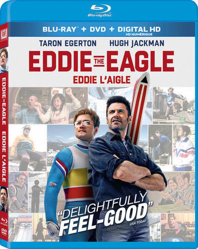 Eddie The Eagle Blu-ray + DVD + Digital HD (2-Disc Set) (Free Shipping)