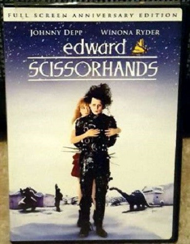 Edward Scissorhands DVD (Fullscreen Anniversary Edition) (Free Shipping)