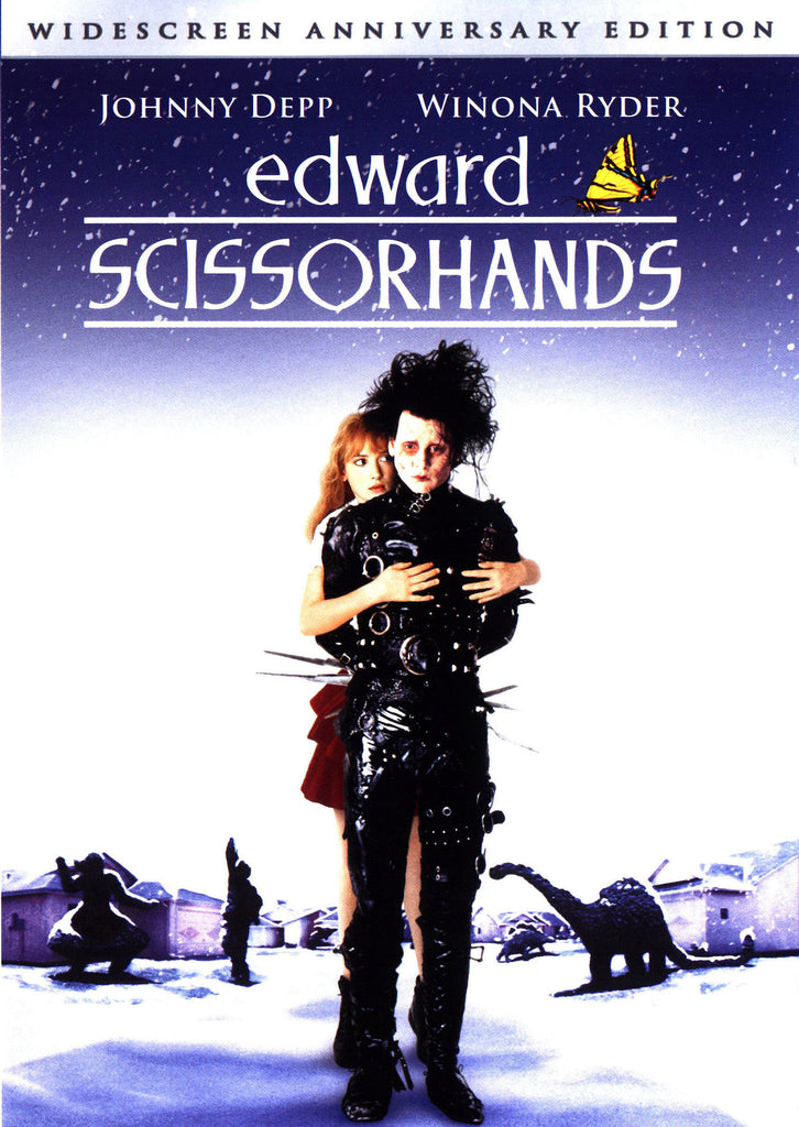 Edward Scissorhands DVD (Widescreen Anniversary Edition) (Free Shipping)