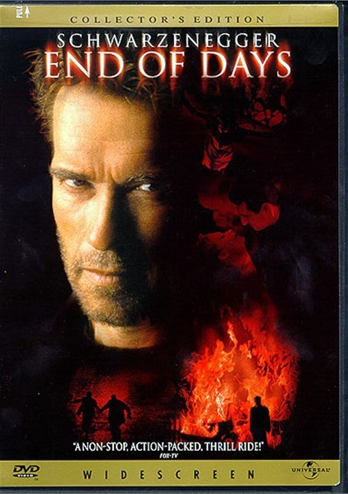 End Of Days DVD (Widescreen Collector's Edition) (Free Shipping)