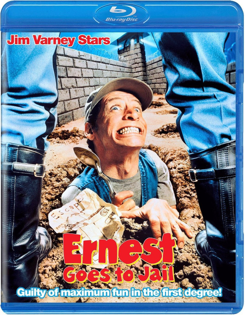Ernest Goes To Jail Blu-Ray (Free Shipping)