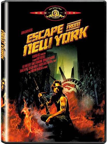 Escape From New York DVD (Free Shipping)