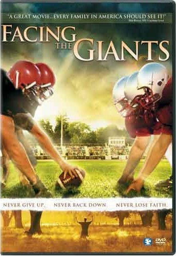 Facing The Giants DVD (Free Shipping)