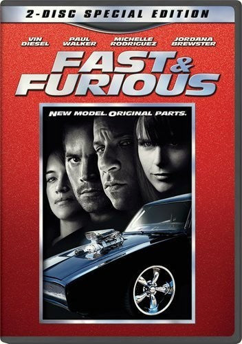 Fast & Furious DVD (2-Disc Special Edition) (Free Shipping)