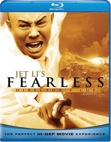 Jet Li's Fearless Blu-Ray (Director's Cut) (Free Shipping)