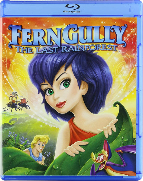 FernGully - The Last Rainforest Blu-Ray (Free Shipping)