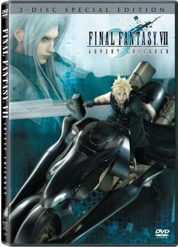 Final Fantasy VII - Advent Children DVD (2-Disc) (Free Shipping)