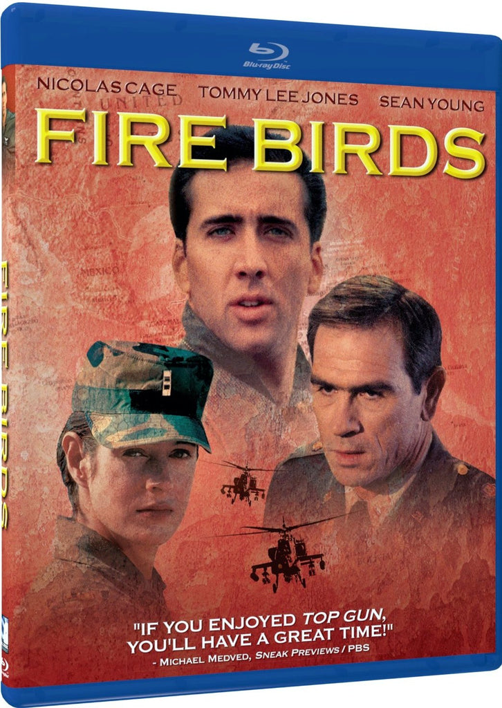 Fire Birds Blu-Ray (Free Shipping)