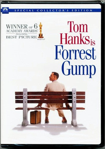 Tom Hanks Is Forrest Gump DVD (2-Disc Special Collector's Edition) (Free Shipping)