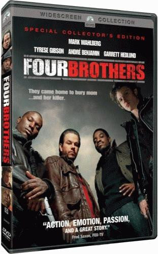 Four Brothers DVD (Widescreen / Special Edition) (Free Shipping)