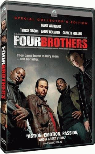 Four Brothers DVD (Fullscreen / Special Edition) (Free Shipping)