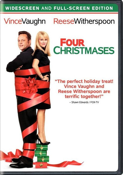 Four Christmases DVD (Free Shipping)