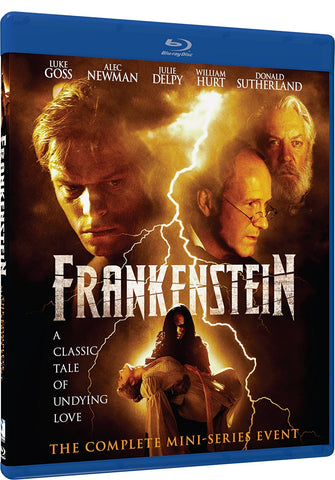 Frankenstein - The Complete Mini-Series Event Blu-Ray (Free Shipping)