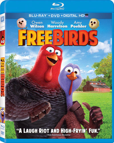 Free Birds Blu-Ray + DVD + Digital HD (2-Disc Set) (Free Shipping)