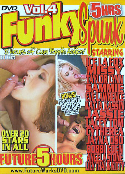 Funky Spunk Volume 4 Adult DVD (Free Shipping)