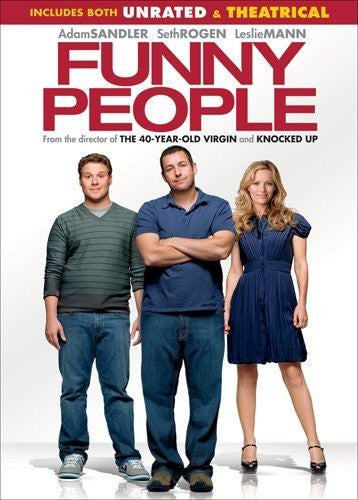 Funny People DVD (Unrated & Theatrical Versions) (Free Shipping)