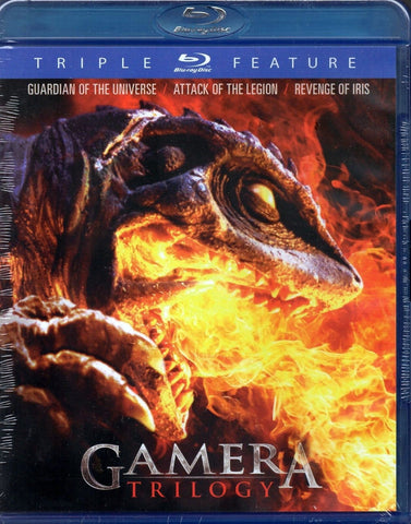 Gamera: Trilogy - Guardian of the Universe / Attack of the Legion / Revenge of Iris Triple Feature Blu-Ray (Free Shipping)