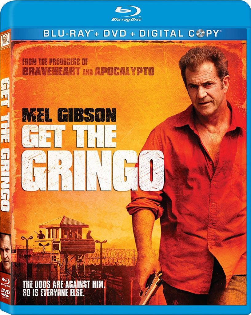 Get The Gringo Blu-Ray +DVD + Digital Copy (2-Disc Set) (Free Shipping)