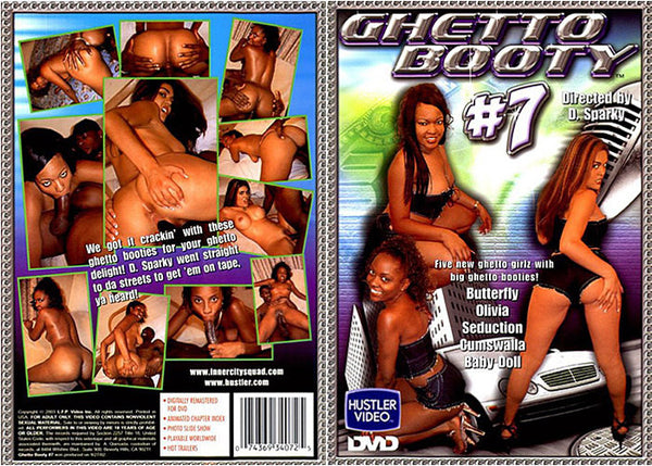 Ghetto Booty 7 - Hustler Adult DVD (Free Shipping)