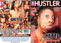 Ghetto Lollipops 1 - Hustler Adult DVD (Free Shipping)