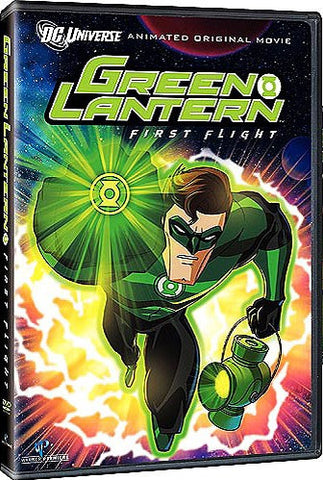 Green Lantern - First Flight DVD (Free Shipping)