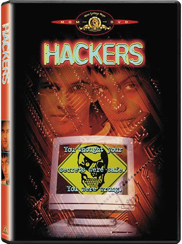 Hackers DVD (Free Shipping)