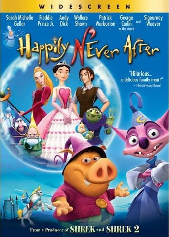 Happily N'Ever After DVD (Widescreen) (Free Shipping)