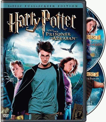 Harry Potter And The Prisoner of Azkaban DVD (Fullscreen) (Free Shipping)