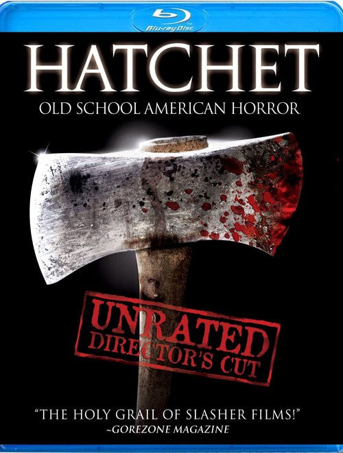 Hatchet Blu-Ray (Unrated Director's Cut) (Free Shipping)