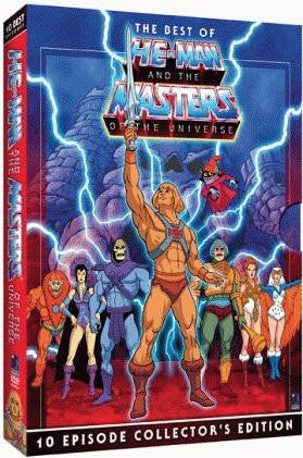 Best Of He-Man And The Masters Of The Universe DVD (Free Shipping)