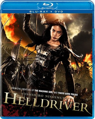 Helldriver Blu-Ray + DVD (2-Disc Set) (Free Shipping)