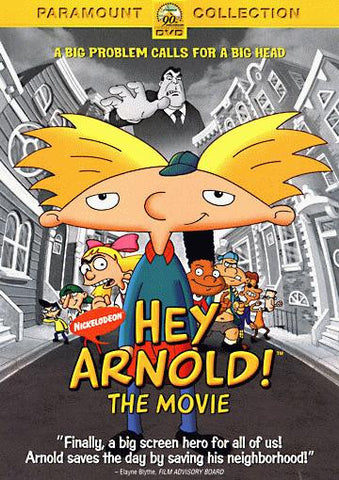 Hey Arnold ! The Movie DVD (Free Shipping)