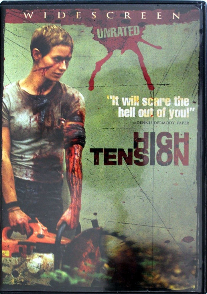 High Tension DVD (Unrated Widescreen) (Free Shipping)