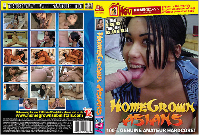 Homegrown Asians - Adult DVD (Free Shipping)