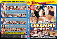 Homegrown Creampie Sex Tapes 2 - Adult DVD (Free Shipping)
