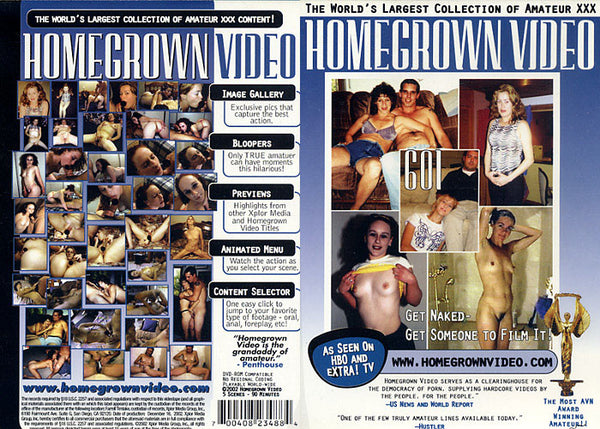 Homegrown Video 601 - Adult DVD (Free Shipping)