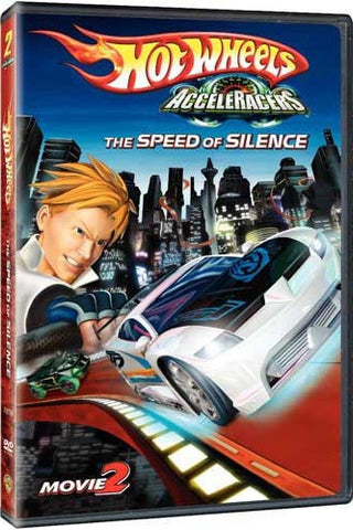 Hot Wheels AcceleRacers - The Speed Of Silence DVD (Free Shipping)