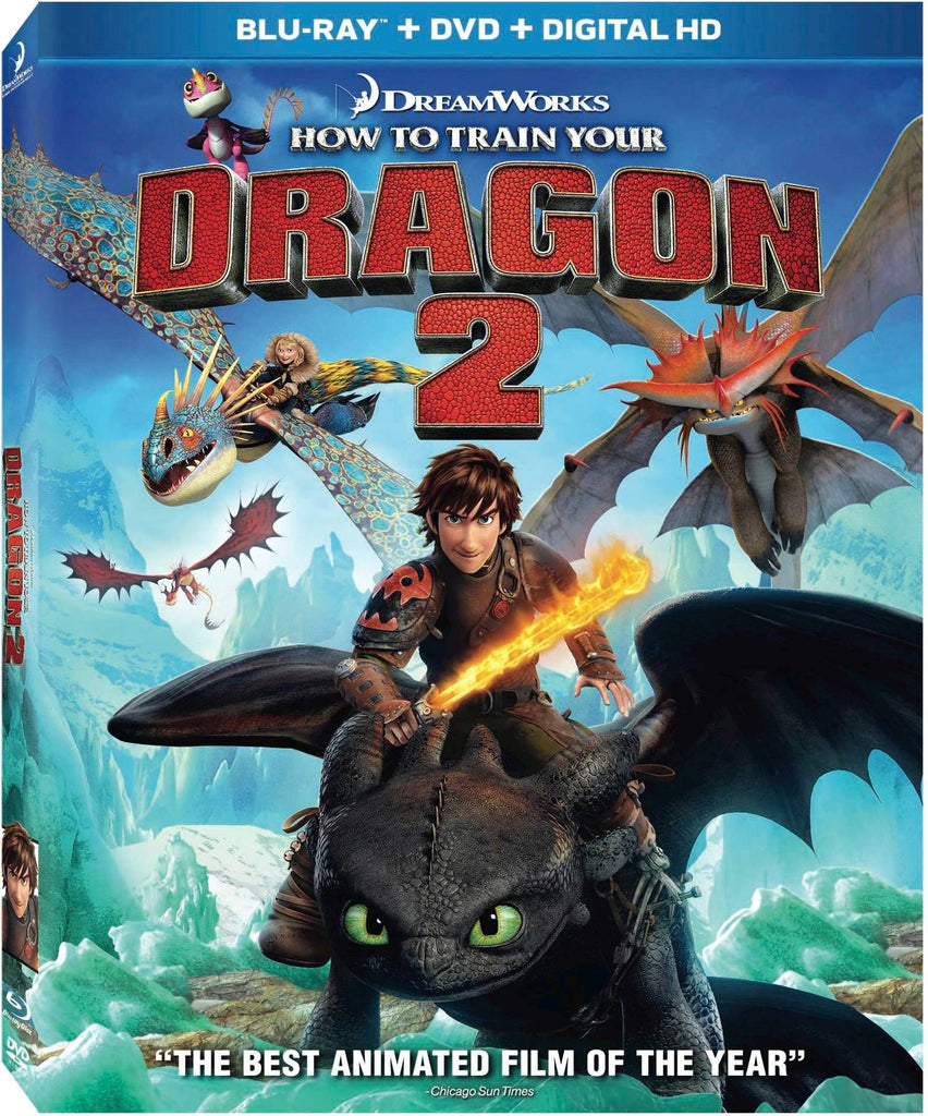 How To Train Your Dragon 2 Blu-ray + DVD + Digital HD (2-Disc Set) (Free Shipping)