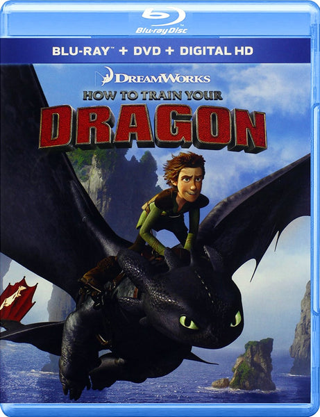 How To Train Your Dragon Blu-ray + DVD + Digital HD (2-Disc Set) (Free Shipping)