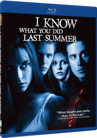 I Know What You Did Last Summer Blu-Ray (Free Shipping)